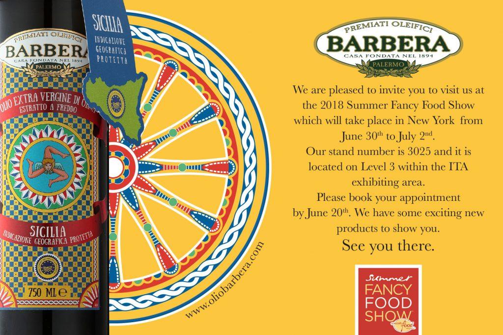 Premiati Oleifici Barbera @ Summer Fancy Food 2018